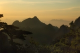 Huang Shan Sunset|224