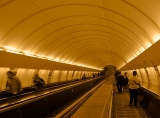 A Trip To Prague - Subway Escalator|281