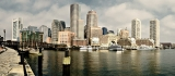 Waterfront panorama, Boston|325