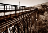 Railroad Bridge Highway One|410