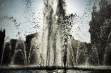 Barcelona fountain water splash|622
