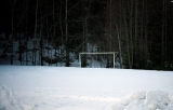 A football goal longing for spring|686